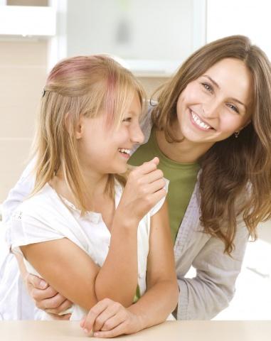дочь с мамой дают всем